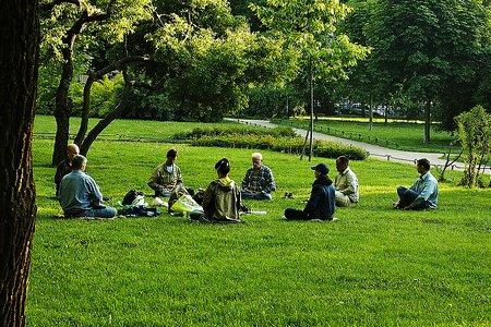 grupna meditacija