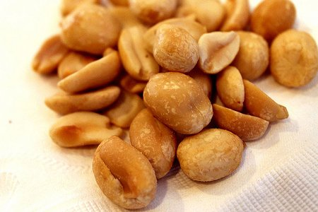 Kikiriki, suvo-pečeni, slani | Tablica Kalorija