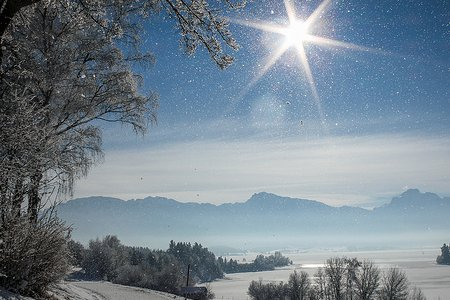 Snježno sunce