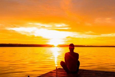 meditacija u suncu